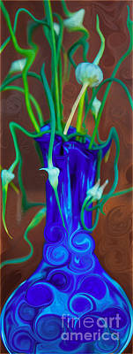 Blue Bounty Print by Omaste Witkowski