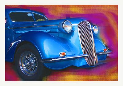 Blue Boy Print by Doug Walker