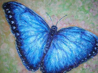Painting - Blue Butterfly by Vicki Wynberg