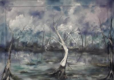 Painting - Blue Dawn by Virginia Bond