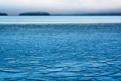 Lake Photograph - Blue December by Ari Salmela