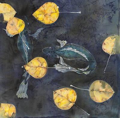 Blue Depths Original by Carolyn Doe