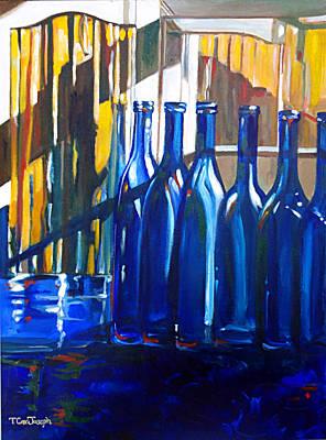 Blue Dog Blue Nun Original by Terry Cox Joseph