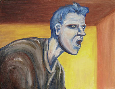 Morph Painting - Blue - External by Jeffrey Oleniacz