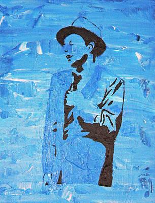 Blue Eyes Original by Michael Tokarski