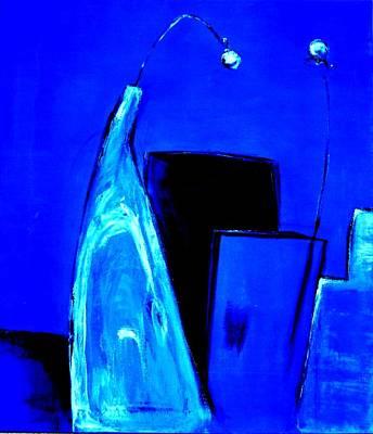 Blue Feelings Print by Art Ilse  Schill