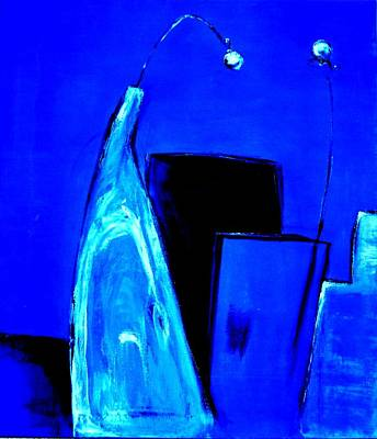 Painting - Blue Feelings by Art Ilse  Schill