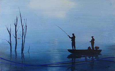 Blue Gill Original by Jack Hanzer Susco