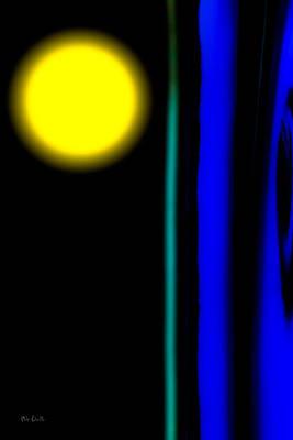 Blue Glass Print by Bob Orsillo