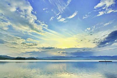 Suradej Photograph - Blue Heaven by Suradej Chuephanich