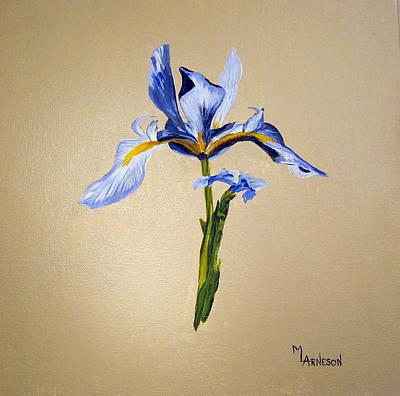 Blue Horizon Original by Mary Arneson