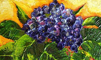 Blue Hydrangea Print by Paris Wyatt Llanso
