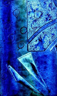 Artist Mixed Media - Blue I by John  Nolan