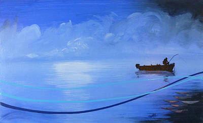 Blue Lagoon Original by Jack Hanzer Susco