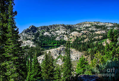 Blue Lake Print by Robert Bales