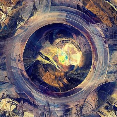 Blue Legend Print by Anastasiya Malakhova