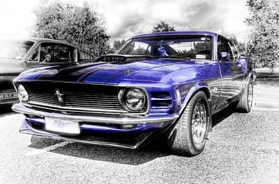 Aotearoa Photograph - Blue Mach 1 by motography aka Phil Clark