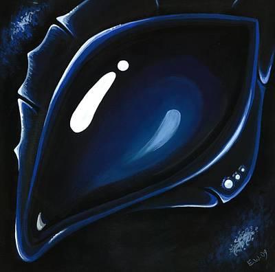 Blue Midnight Original by Elaina  Wagner