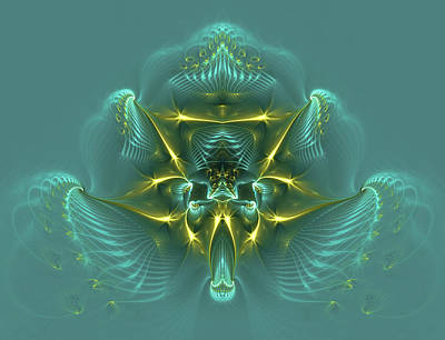 Phil Clark Digital Art - Blue Mist by Phil Clark