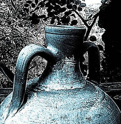 Blue Olla Print by Penelope Stephensen