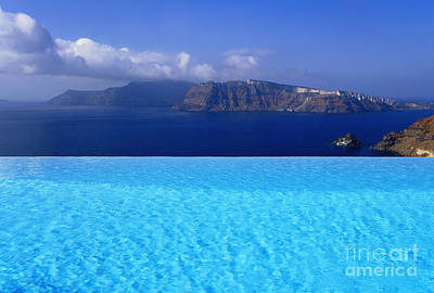 Vacances Photograph - Blue On Blue by Aiolos Greek Collections