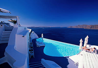 Vacances Photograph - Blue Paradise by Aiolos Greek Collections