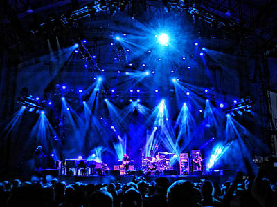 Phish Photograph - Blue Chicago by David Powell