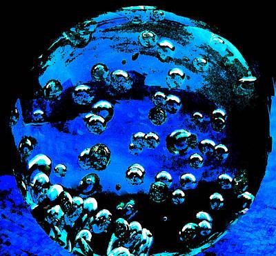 Blue Planet  Print by Colette V Hera  Guggenheim