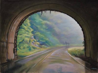 Blue Ridge Morning Original by Christopher Reid