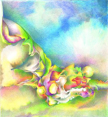 Blue Sky Print by Bodhi