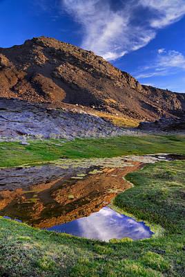 Sierra Nevada Photograph - Blue Sky by Guido Montanes Castillo