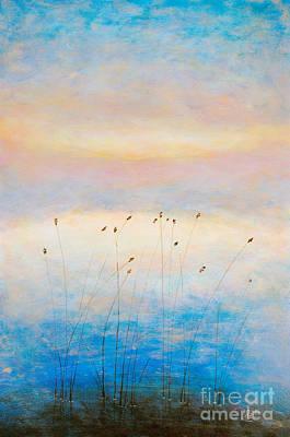 Blue Sunrise Print by Martin Capek