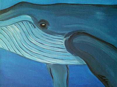 Blue Whale Original by Carlos Alvarado