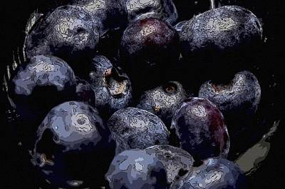 Blueberries  Original by Toppart Sweden