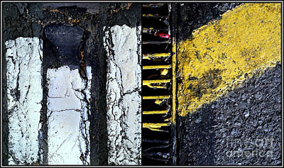 Grate Photograph - Blurred Lines Four by Marlene Burns