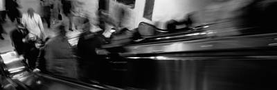 Blurred Motion, People, Grand Central Print by Panoramic Images