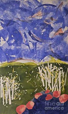 Blustery Day Print by Deborah Talbot - Kostisin