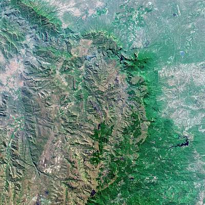 Blyde River Canyon Print by Us Geological Survey