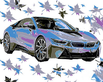 Hennessy Digital Art - BMW by Dalon Ryan