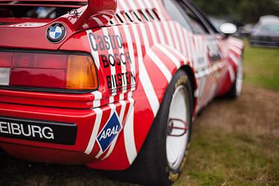 Racecars Photograph - Bmw M1 Racecar by Mike Reid
