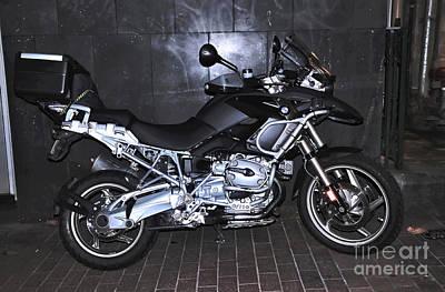 Bmw Motorcycle Print by Kaye Menner