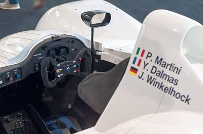 Bmw V12 Lmr F1 Race Car 1999 Print by Frank Gaertner