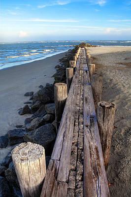 Vanish Photograph - Boardwalk - Charleston Sc by Drew Castelhano