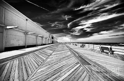 Boardwalk Walk Print by John Rizzuto