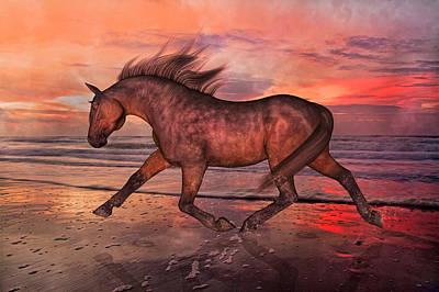 Freedom Mixed Media - Boasting Beautiful by Betsy C Knapp