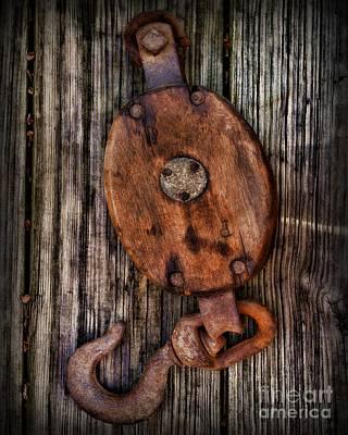 Boat - Block And Tackle Print by Paul Ward