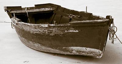 Boat Print by Frank Tschakert