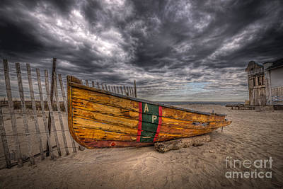 Boat Wreckage Original by Michael Ver Sprill