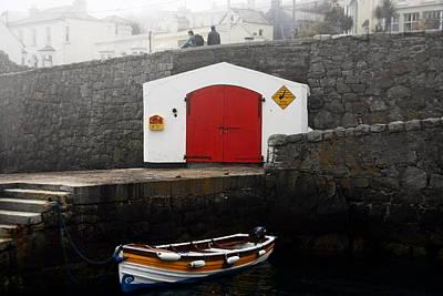 Angling Photograph - Boathouse by Aidan Moran