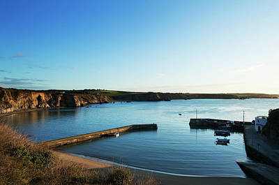 Boatstrand Harbour In The Copper Coast Print by Panoramic Images